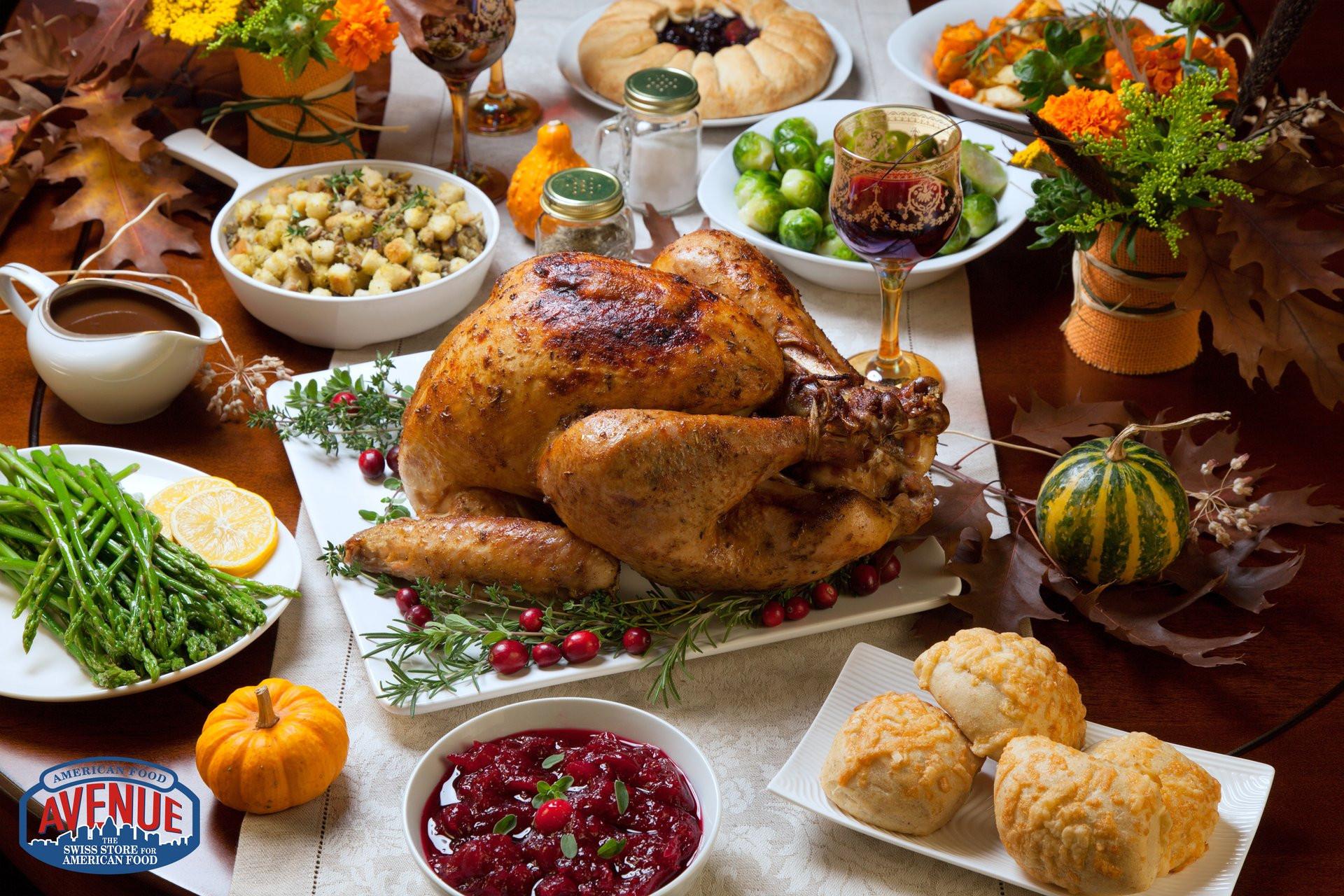 Wegmans Turkey Dinner Thanksgiving 2019  American Food Avenue The Swiss Store for American Food