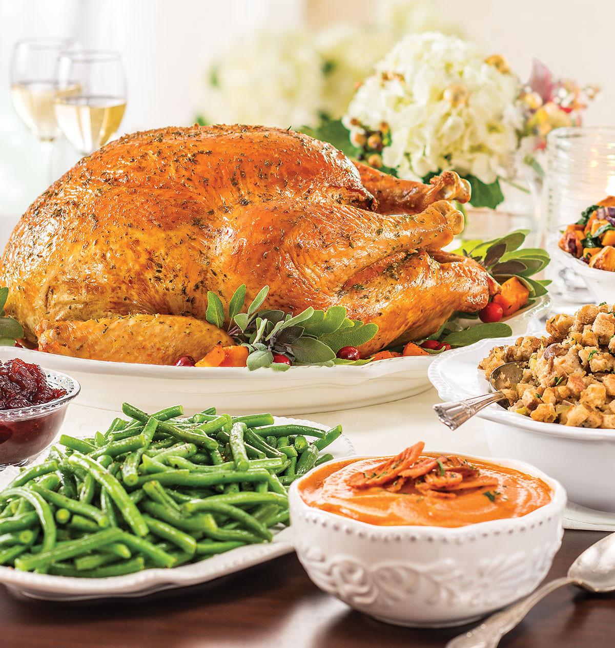 Wegmans Turkey Dinner Thanksgiving 2019  turkey sage meatloaf wegmans