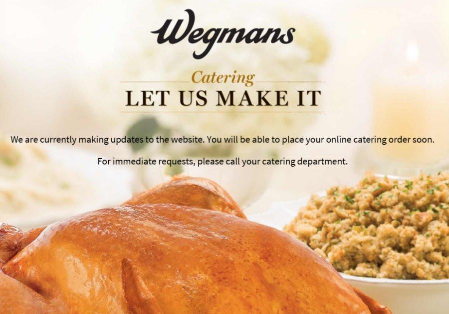 Wegmans Turkey Dinner Thanksgiving 2019  Wegmans Catering ing Soon
