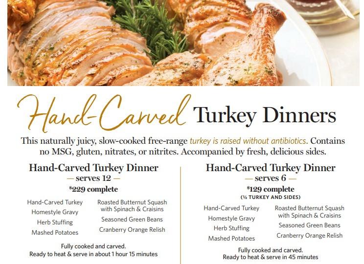 Wegmans Turkey Dinner Thanksgiving 2019  Learn How To Cook A Thanksgiving Meal at Wegmans Have