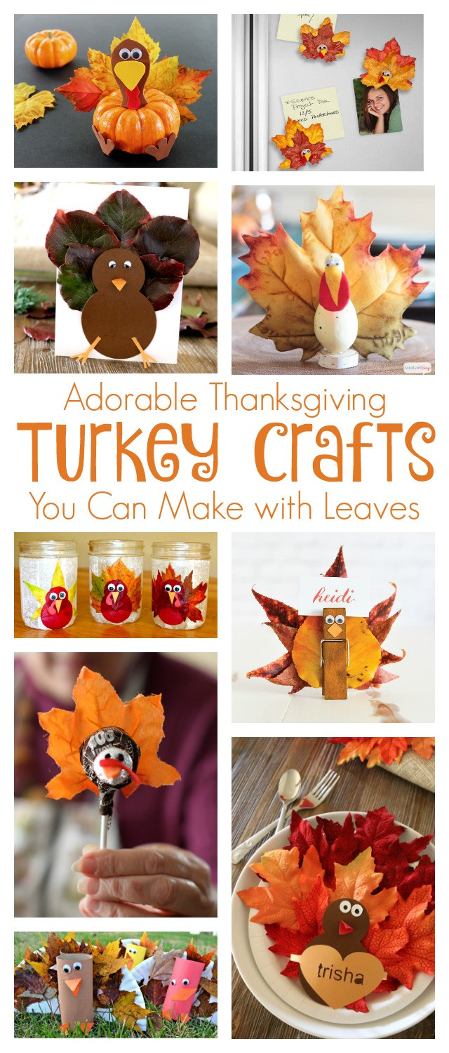 When To Buy Turkey For Thanksgiving  Thanksgiving Turkey Crafts To Make With Leaves Atta Girl