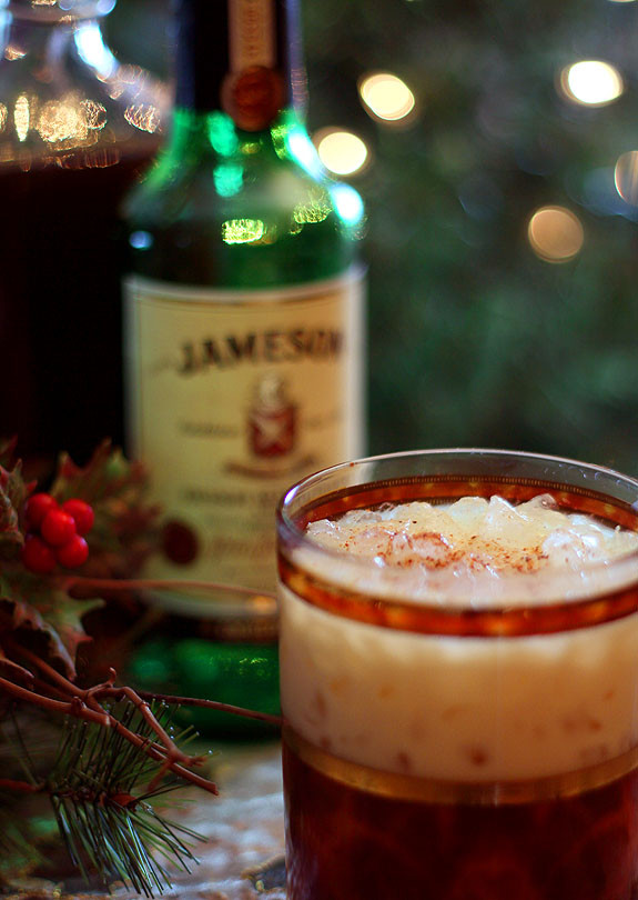 Whiskey Christmas Drinks  Best of Holiday Cocktails featuring Hot Buttered Rum