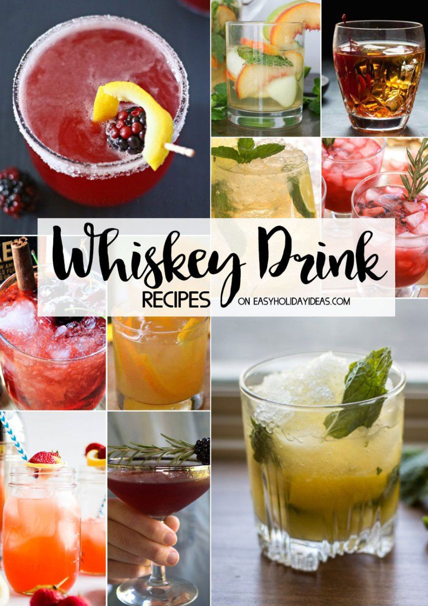 Whiskey Christmas Drinks  Whiskey Drink Recipes drink recipes