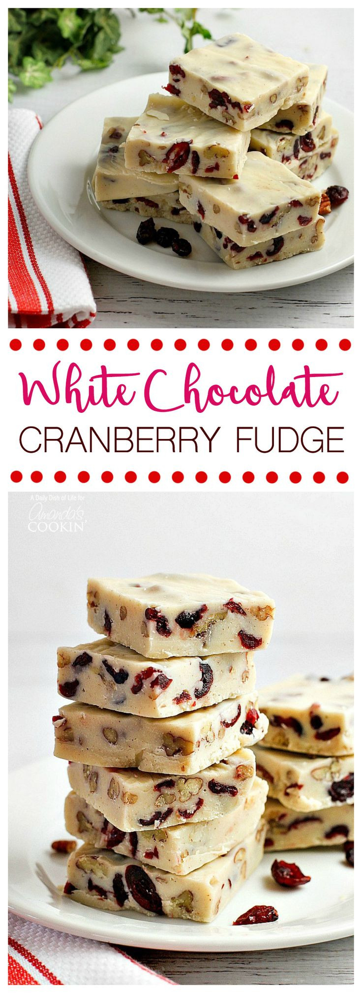 White Chocolate Candy Recipes For Christmas  1000 images about Baking on Pinterest