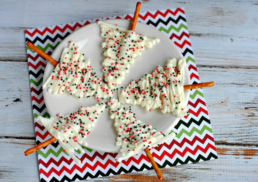 White Chocolate Christmas Candy  White Chocolate Christmas Trees Frugal Mom Eh