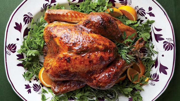 Whole Food Thanksgiving Turkey  Turkey with Brown Sugar Glaze