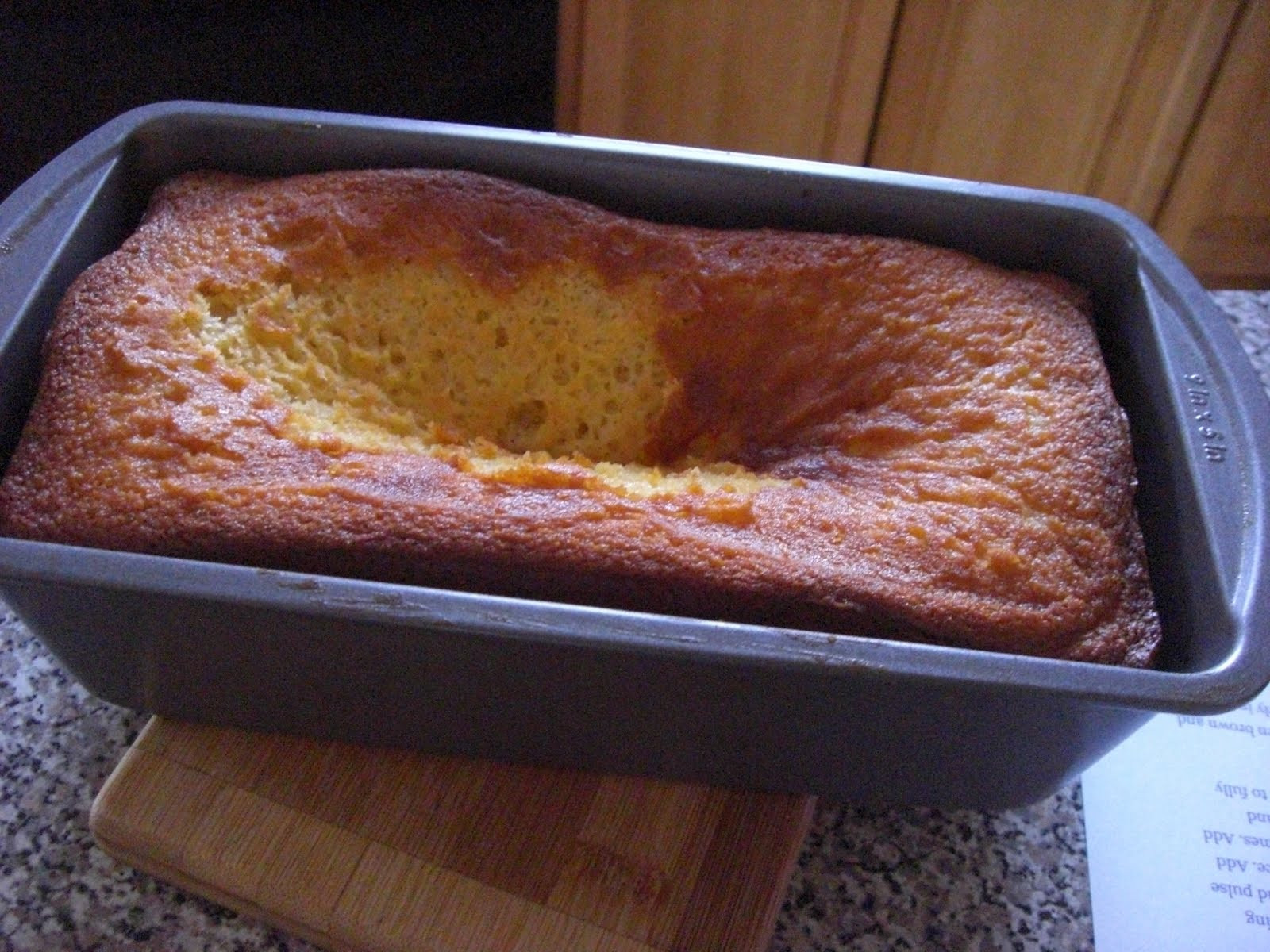 Why Did My Pound Cake Fall  aka Suita Why did the pound cake fall
