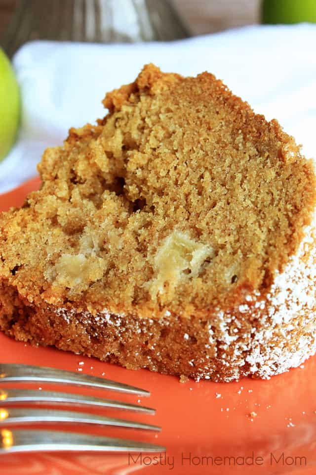 Why Did My Pound Cake Fall  Apple Pound Cake Mostly Homemade Mom