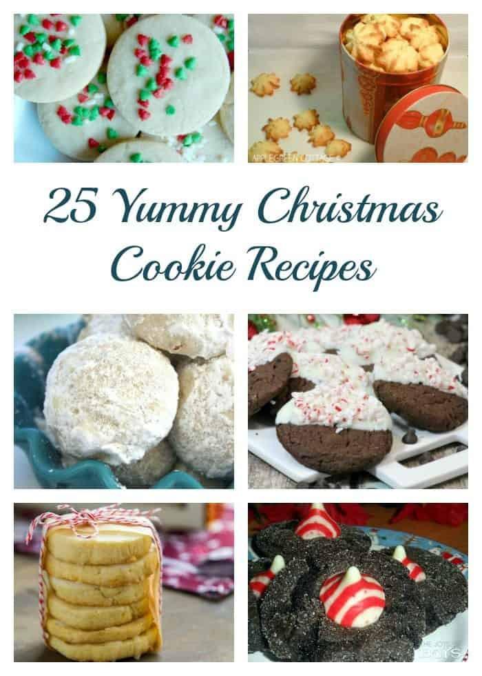 Yummy Christmas Cookies  25 Yummy Christmas Cookie Recipes