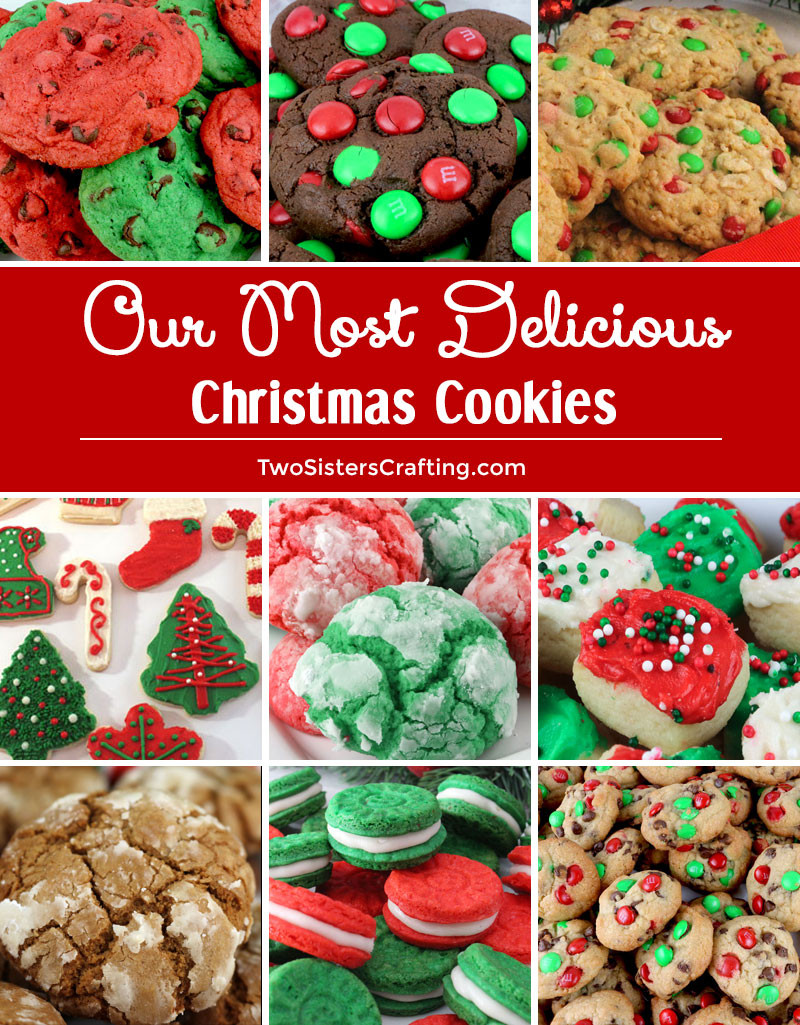 Yummy Christmas Cookies  Our Most Delicious Christmas Cookies Two Sisters