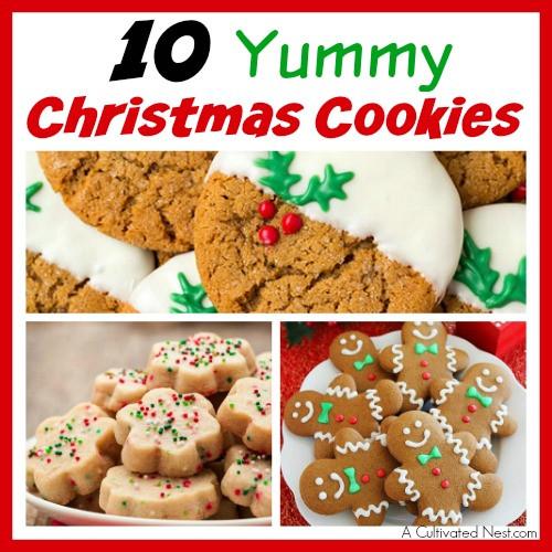 Yummy Christmas Cookies  10 Yummy Christmas Cookie Recipes